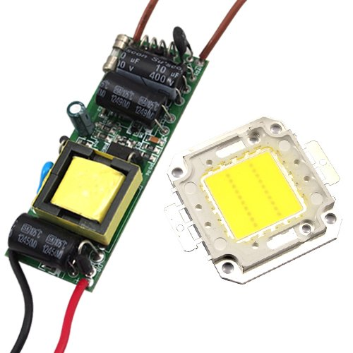 Lohas 20W 110~240V LED High Power Light Lamp Chip + LED Power Supply Driver Cool White 90w led driver dc40v 2 7a high power led driver for flood light street light ip65 constant current drive power supply