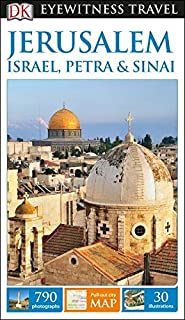 Book Cover: DK Eyewitness Travel Guide: Jerusalem, Israel, Petra & Sinai