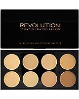 Makeup Revolution - Palette Ultra Cover et Conceal - Léger à Moyen