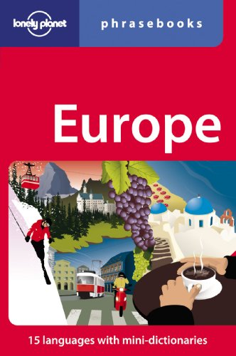 Lonely Planet Europe Phrasebook 4th Ed.: 4th Edition Picture
