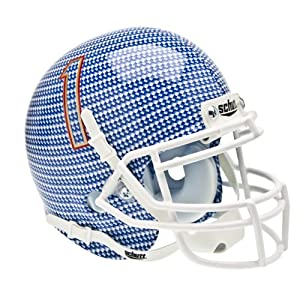NCAA Tulsa Golden Hurricanes Collectible Alt 1 Mini Helmet, Carbon Fibre by Schutt