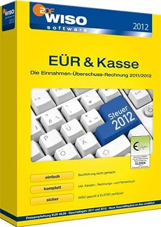 WISO EÜR & Kasse 2012 (Einnahme- Überschuss-Rechnung)