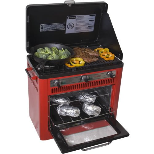 Outdoor Camp Oven with Grill