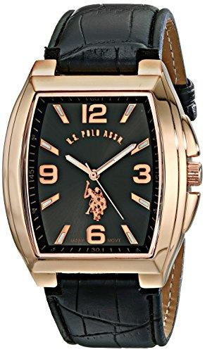 U.S. Polo Assn. Classic Men'S Usc50241 Analog Display Analog Quartz Black Watch