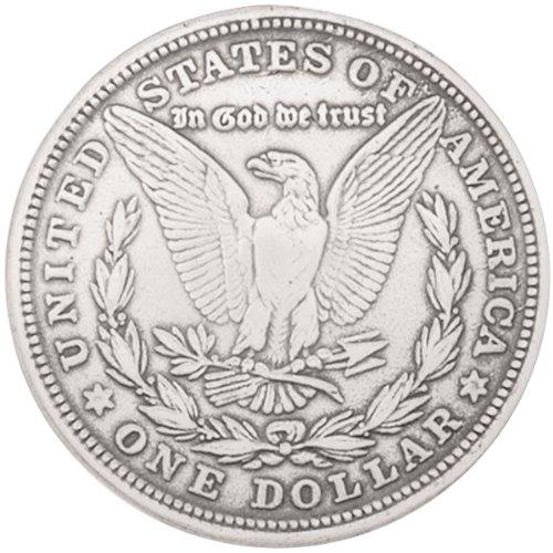 "Concho 1-3/8"" Silver 1/Pkg-Morgan Dollar"