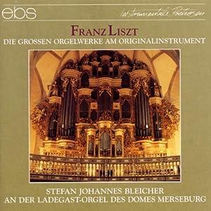 Die großen Orgelwerke auf dem Orginalinstrument