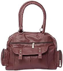 Gracetop Women's Handbag (Mehroon) (Flp-Meh)