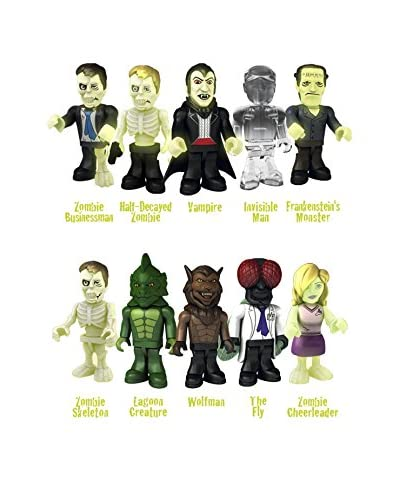 Famosa Monsters Vs Zombies Pack 5 Figuras