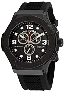 Stuhrling Original Men's 160CXL.33561 Special Reserve Apocalypse Chrono Grand Chronograph Day and Date Rubber strap Watch