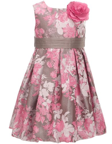 Monsoon Baby girl Baby Ava Jacquard Dress