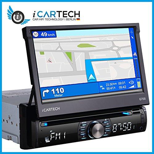 ICARTECH-G700-1-DIN-Autoradio-GPS-Navigation-Freisprecheinrichtung-800x480-Touchscreen-DVD-USB-SD-DVB-T-DAB-Ready