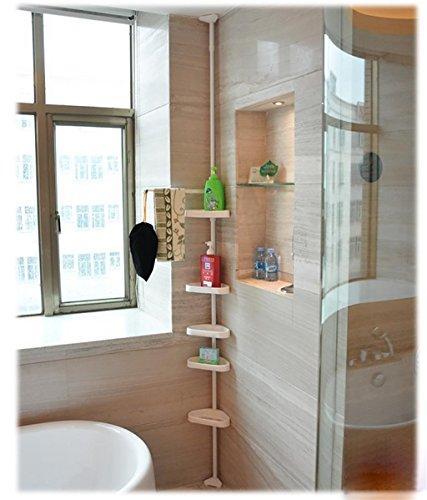 2-LIU-Badezimmer-Regal-Eckbadewanne-Zahnstangen-versenkbare-Nagel-Freiraum-Ideen-Lagerregal-180-250cm