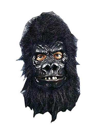 Gorilla Deluxe Mask Halloween Costume - Most Adults