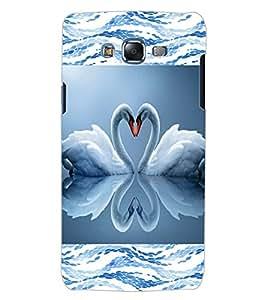 ColourCraft Love Birds Design Back Case Cover for SAMSUNG GALAXY J5
