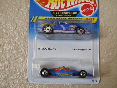 Hot Wheels 2 Car Pack 500 + Lumina Stocker Race Team Series - 1