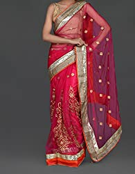 Parmar Design Party Wear Saree Design517