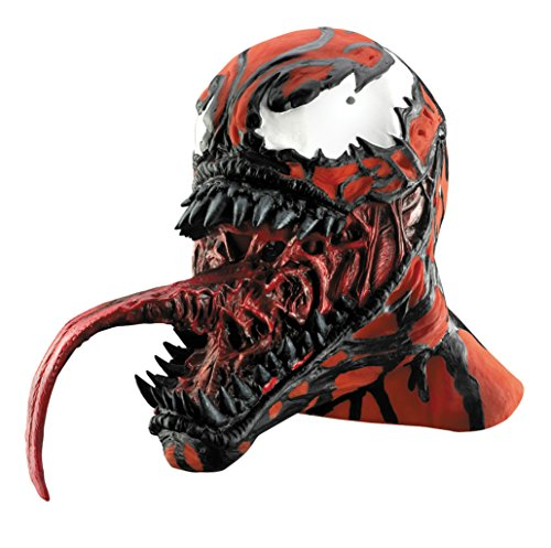 The Amazing Spider-Man Carnage Vinyl Deluxe Adult Halloween Costume Mask