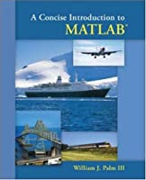 A Concise Introduction to Matlab Front Cover