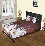 Aarco Polycotton Printed Single Bedsheet