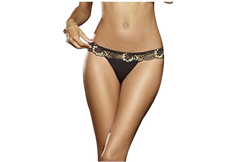 Dreamgirl Golden String 3er Pack – S bis XL günstig online kaufen