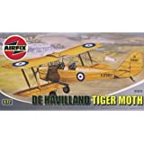 Airfix A01015 De Havilland Tiger Moth 1:72 Scale Series 1 Plastic Model Kitby Airfix Military Aircraft