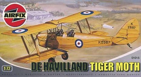 Airfix - A01015 - Construction et Maquettes - Bâtiment - De Havilland DH-82 Tiger Moth