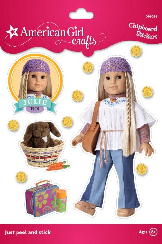 American Girl Crafts Sturdy Stickers, Julie Albright Peasant Blouse - 1