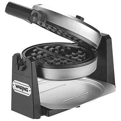 Waring Pro New WMK200 Belgian Waffle Maker - Stainless Steel & Black - Belgian Waffle (WaringWMK200 ) by Waring