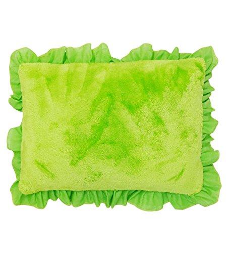 Wonderkids Green Rectangular Baby Pillow