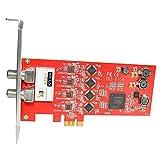 TBS ATSC/ Clear QAM Quad Tuner PCIe Digital TV Card for Window/ Linux/ HTPC/IPTV Streaming Server