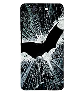 PRINTSWAG BAT Designer Back Cover Case for MICROMAX A350 CANVAS KNIGHT