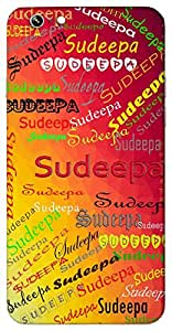 Sudeepa (Popular Girl Name) Name & Sign Printed All over customize & Personalized!! Protective back cover for your Smart Phone : Samsung Galaxy S4mini / i9190