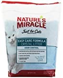 Natures Miracle Just for Cats Easy Care Crystal Litter, 8-Pound (P-5370)
