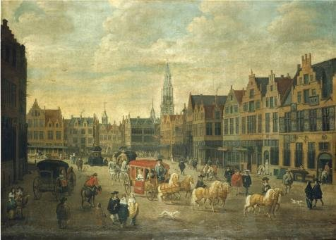 Oil Painting 'Erasmus De Bie - Meir In Antwerp,17th Century' 30 x 42 inch / 76 x 106 cm , on High Definition HD canvas prints is for Gifts And Home Theater, Kids Room And Laundry Room decor, graphs (Midnight New York Perfume compare prices)