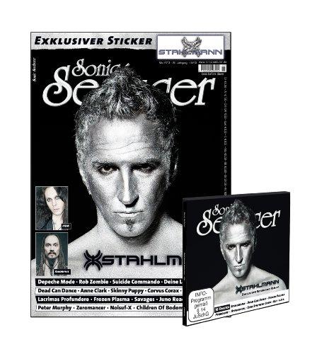 Sonic Seducer 05-13 mit Stahlmann-Titelstory + CD + exkl. Sticker von Stahlmann, Bands: Depeche Mode, Dead Can Dance, HIM, Rob Zombie, Deine Lakaien, ... u.v.m.: + CD + exkl. Stahlmann-Sticker