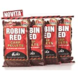 Dynamite Baits Robin Red 15mm Pre-Drill Carp Pellets UK POST ONLY
