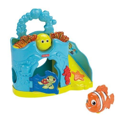 Fisher-Price Amazing Animals Disney's Nemo Rollin' Round Ramp - 1
