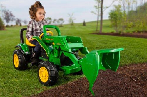 Kid'S John Deere Pedal Tractor Chain Drive W Loader