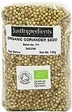 JustIngredients Organic Coriander Seeds Loose 100 g (Pack of 5)
