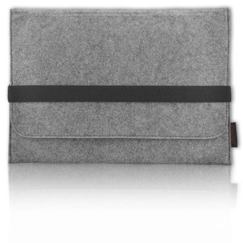 Easyacc 13.3 Inch Macbook Pro Felt Sleeve Carrying Bag Ultrabook Laptop Bag For Apple Macbook Pro - Grey