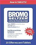 Bromo Seltzer 20 Effervescent Tablets