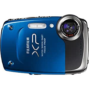 Fujifilm FinePix XP20 Blue 14 MP Digital Camera with 5x Optical Zoom and 2.7-Inch LCD