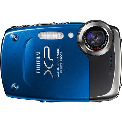 Fujifilm Finepix XP20 Blue, 14.2 MegaPixel, Waterproof, Shockproof, Freezproof, Mudproof, 5x Optical Zoom, 720p HD Video