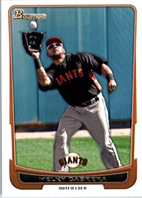 2012 Bowman Baseball Card #40 Melky Cabrera - San Francisco Giants - MLB Trading Card