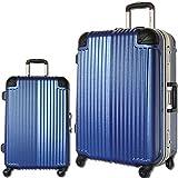 スーツケース 軽量 フレーム TSAロック 旅行かばん トラベルバッグ キャリーバッグ 玄武 (小型、S、20, ブルー)