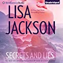 Secrets and Lies: He's a Bad Boy and He's Just a Cowboy: Two Classic Tales of Love and Betrayal from the Queen of Romantic Suspense (       UNABRIDGED) by Lisa Jackson Narrated by Amy Rubinate, Renee Raudman
