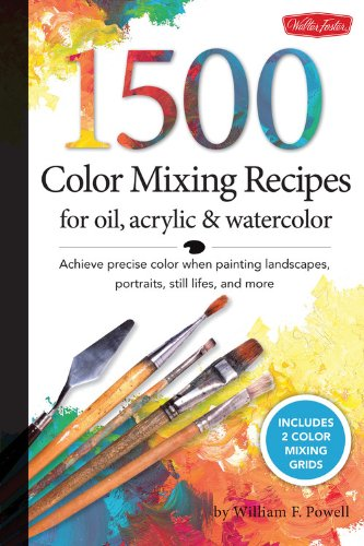 1,500 Colour Blending Recipes for Oil, Acrylic & Watercolor: Succeed in exact colour when portray landscapes, portraits, nonetheless lifes, and extra