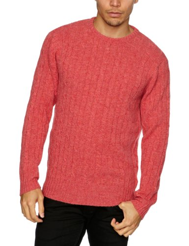 Alan Paine Gullane Men's Jumper Geranium C48IN