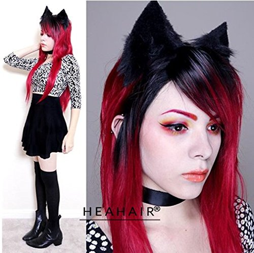 heahairr-new-fashion-women-fashion-black-ombre-red-wavy-handtied-synthetic-lace-front-wig