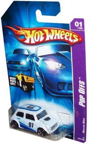 Hot Wheels - 2007 - Pop-Offs - Morris Mini - 01 of 04 - Body Pops Off - 037/180 - Limited Edition - Collectible - 1